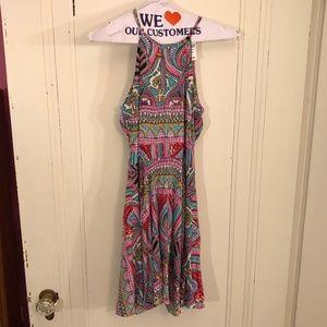 LF New w/ Tags Multi Color Sun Dress Size 8